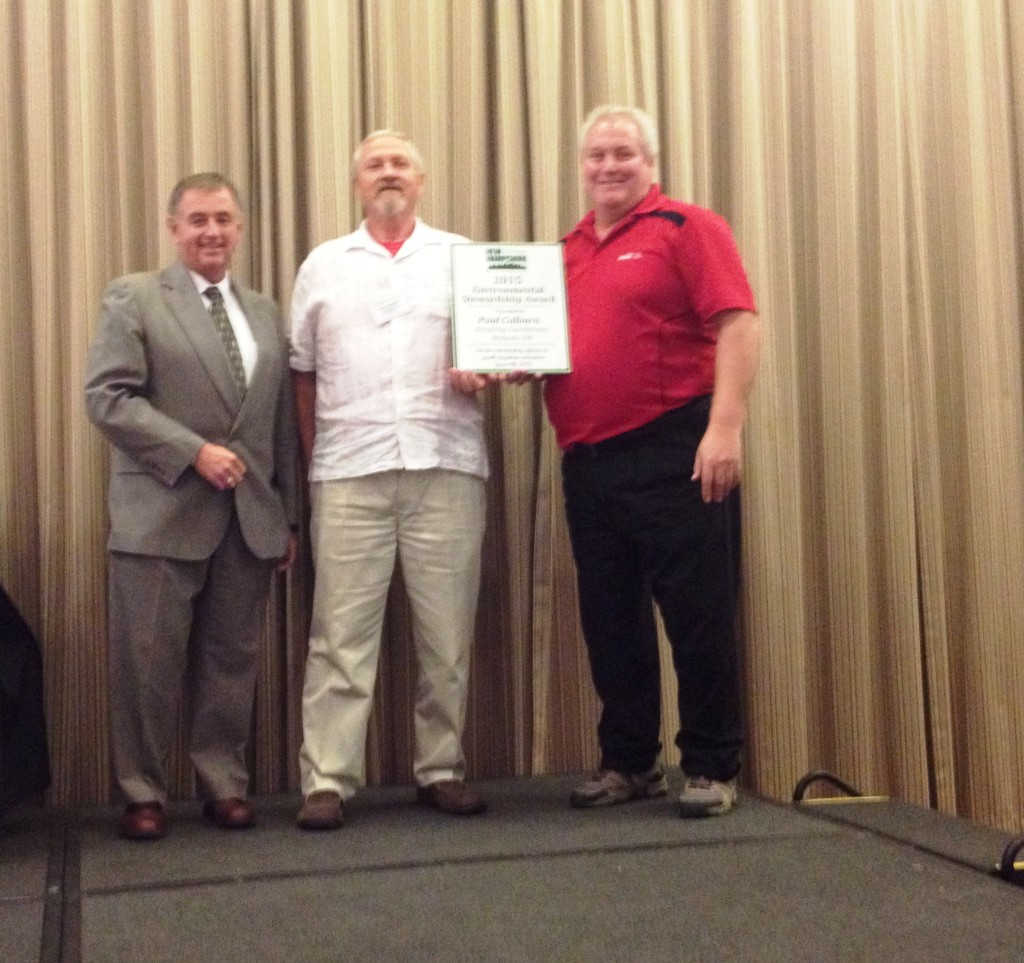 Left to Right: John Dumais, NHtB; Paul Colburn, Walpole/Award Recipient; Ray Dube, NHtB